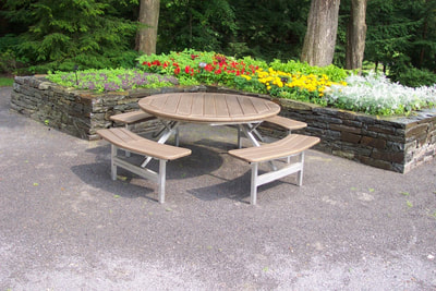 picnic tables - polywood adirondack chair kits
